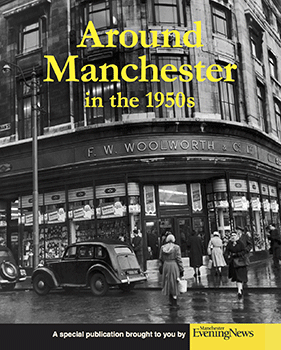 around Manchester in the 1950s cover