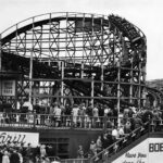 The bobs roller coaster at Belle Vue