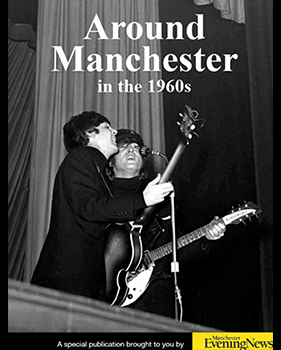 around Manchester in the 1960s book cover