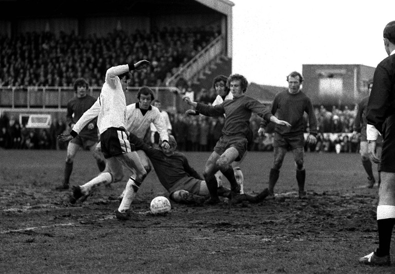 Hereford United v Newcastle United February 1972