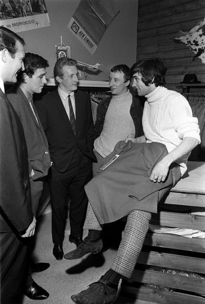 George Best Football player, March 1966