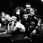 Manchester Cast of Musical 'Hair' rehearsing
