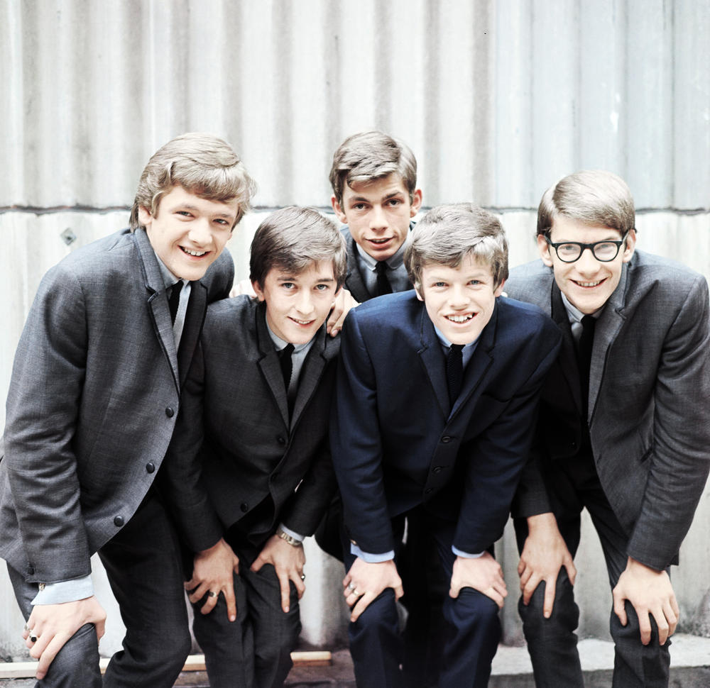 The band Herman's Hermits in 1964