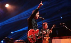 Noel Gallagher and the High flying Birds performing in Wales