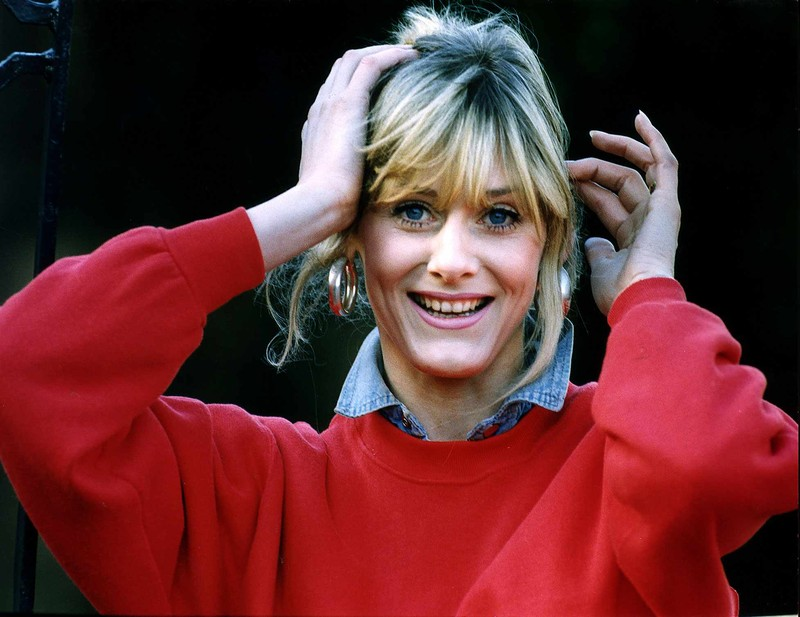 Coronation Street actress Sarah Lancashire in 1992
