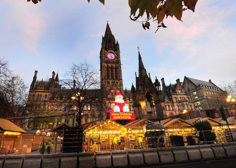 Manchester Christmas Markets in Albert Square