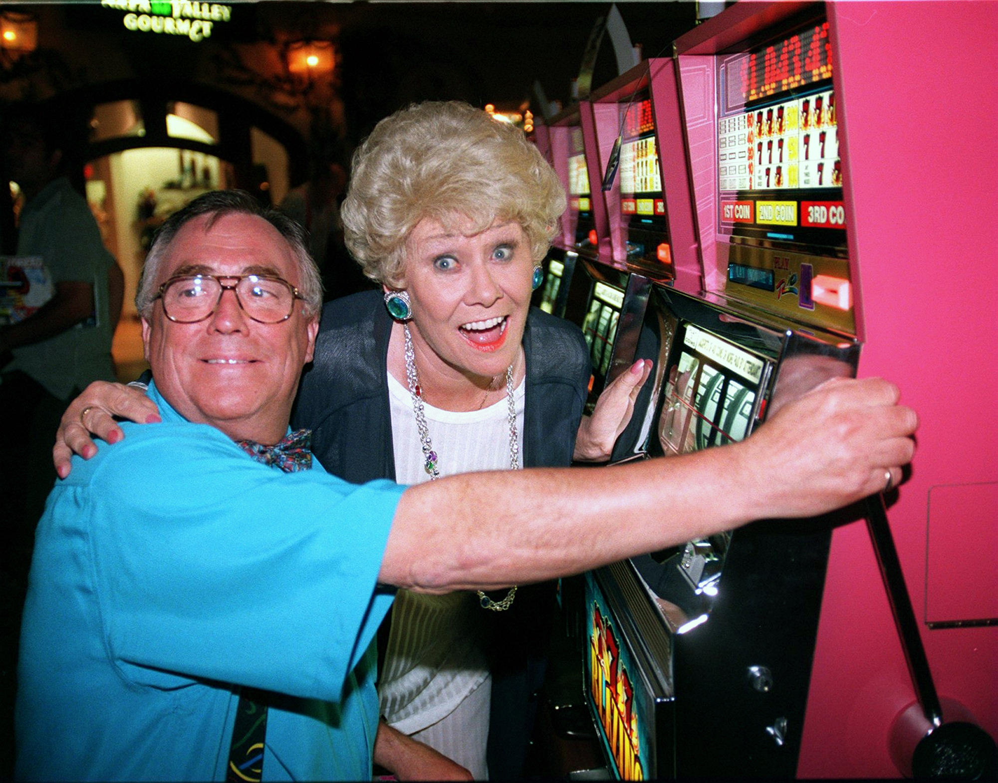 Jack and Vera Duckworth in Las Vegas September 1997