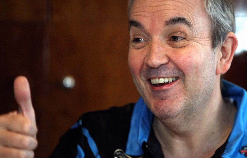 Darts legend Phil 'The Power' Taylor