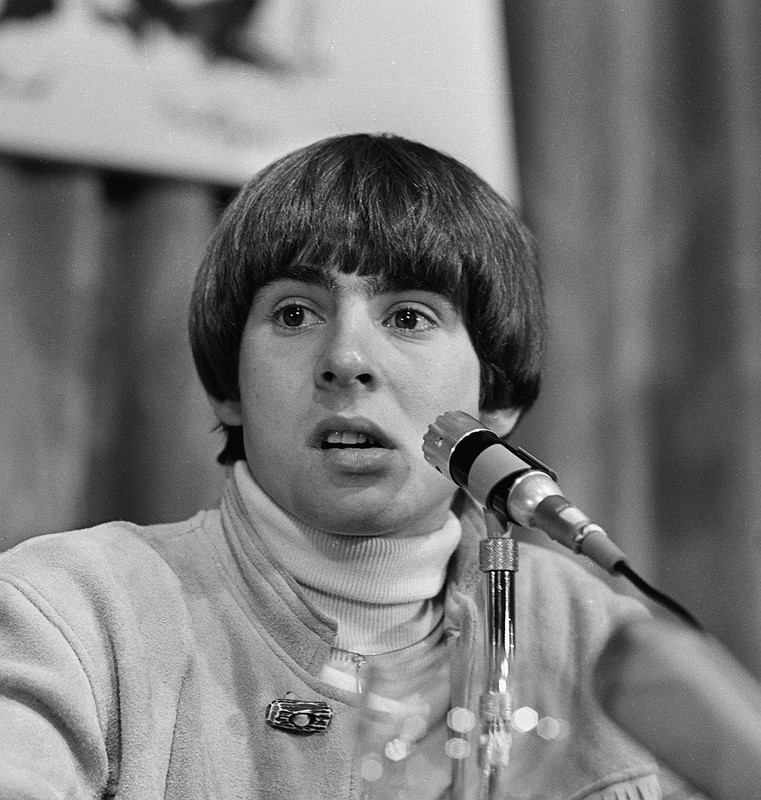 Davy Jones, member of the 1960's pop group The Monkees