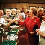 Margaret Thatcher in the Rovers Return