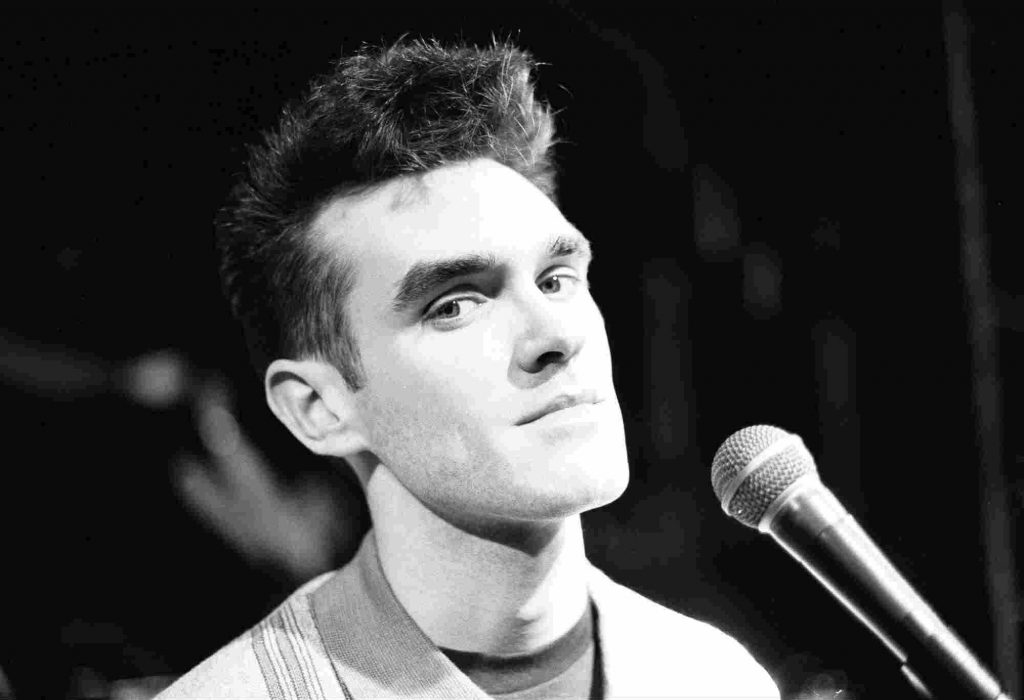 Morrissey from Manchester band The Smiths