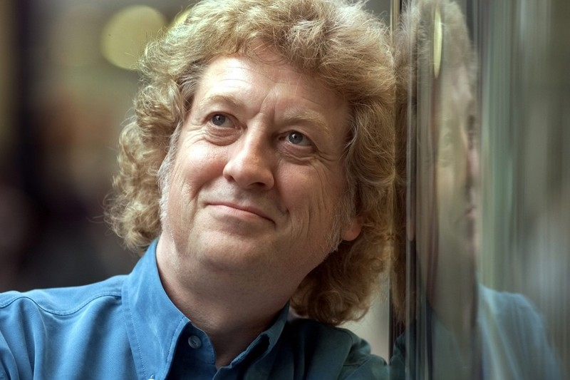 Pop superstar Noddy Holder in Birmingham.
