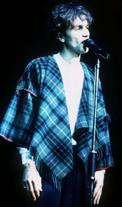 Tim Booth from the band James