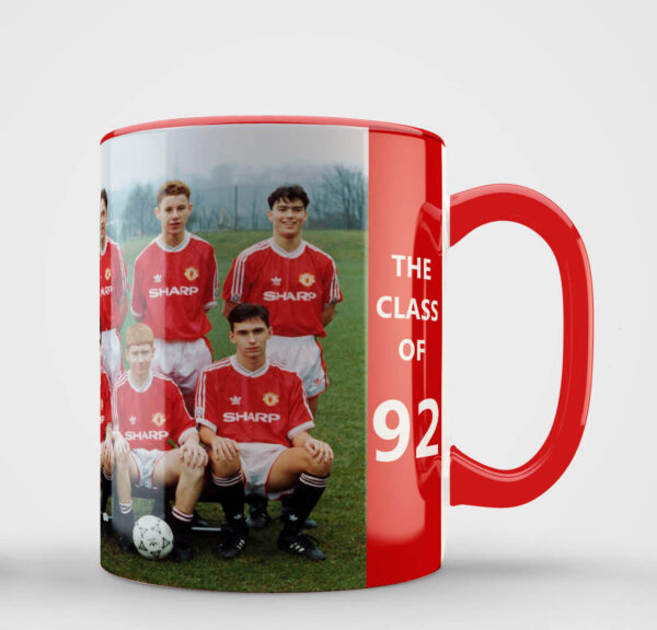 Manchester United class of '92 mug
