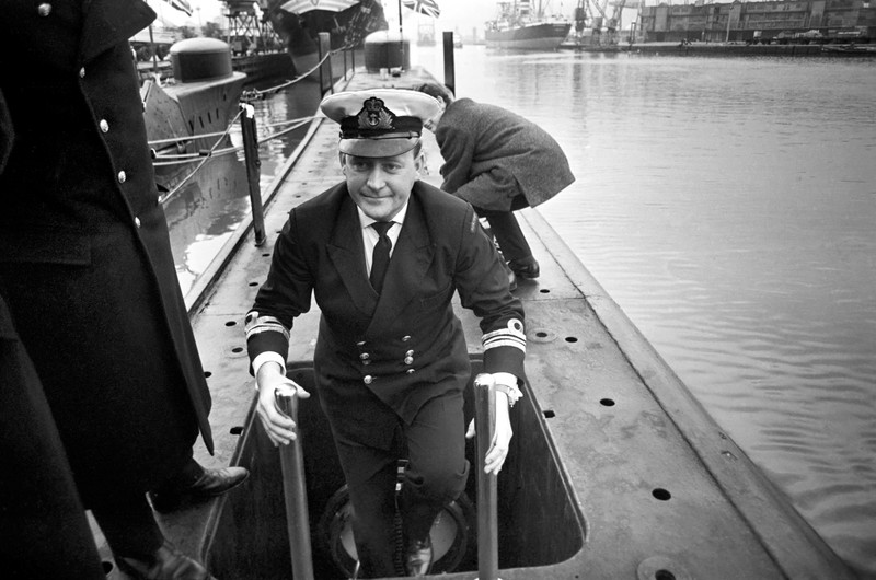 Ian Mac Dougall the Commanding officer of submarine H.M.S Otter