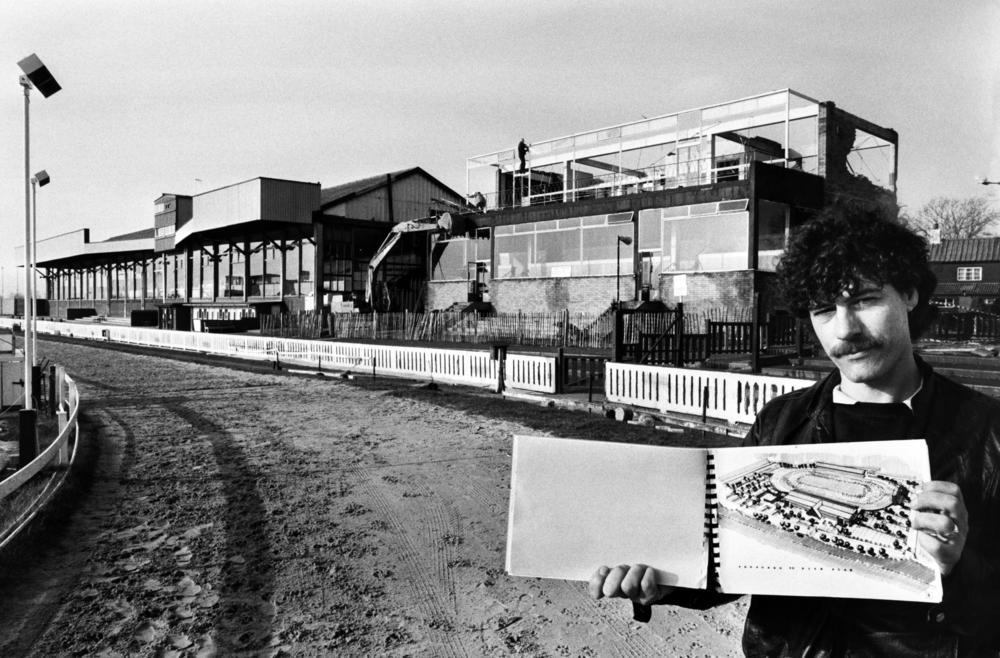 Belle Vue Greyhound stand demolished