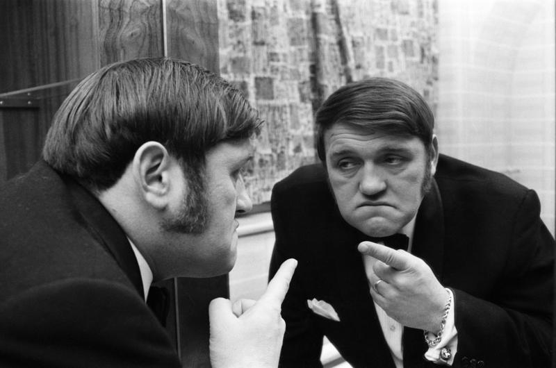 Les Dawson Pictured at the Opera House