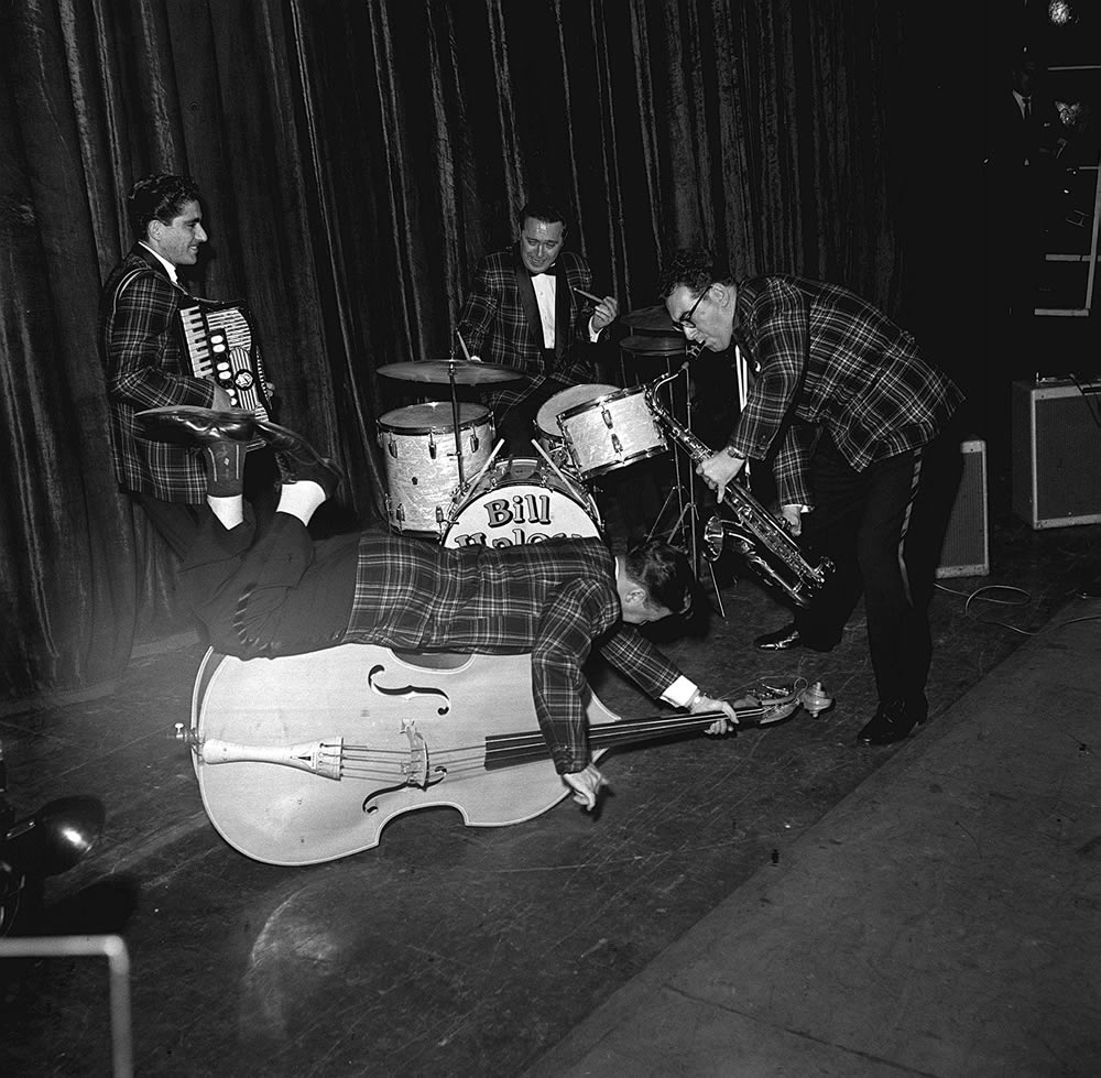 Bill Haley and the Comets played Manchester Odeon in February 1957