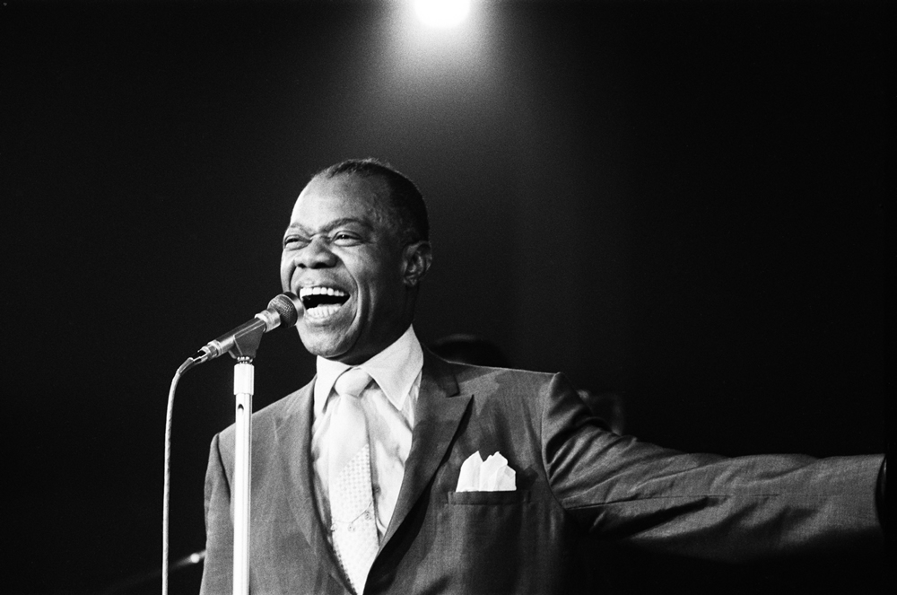 Jazz legend Louis Armstrong brought his six-piece band to Belle Vue in March 1959