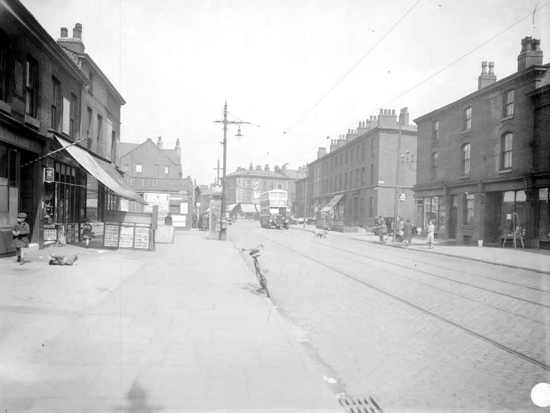 Chorlton Road Then