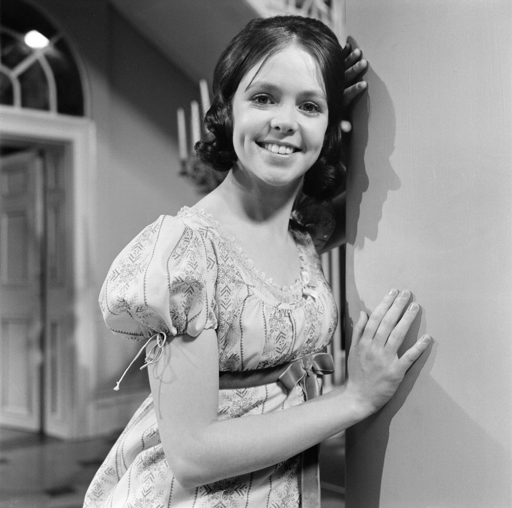 Wendy Padbury in the Granada drama series Seasons of the Year, May 1971