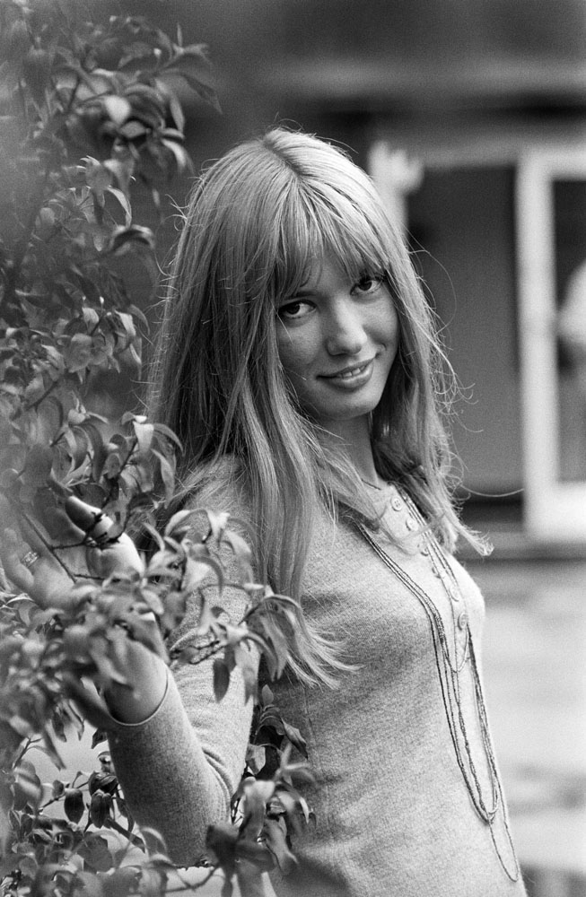Gillian Hills in the Granada children's TV drama The Owl Service, August 1969