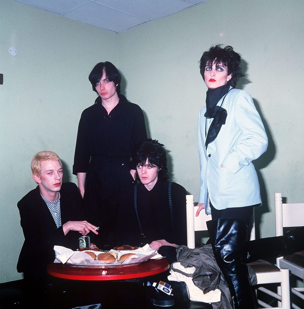 Siouxsie and the Banshees played Belle Vue in November 1977