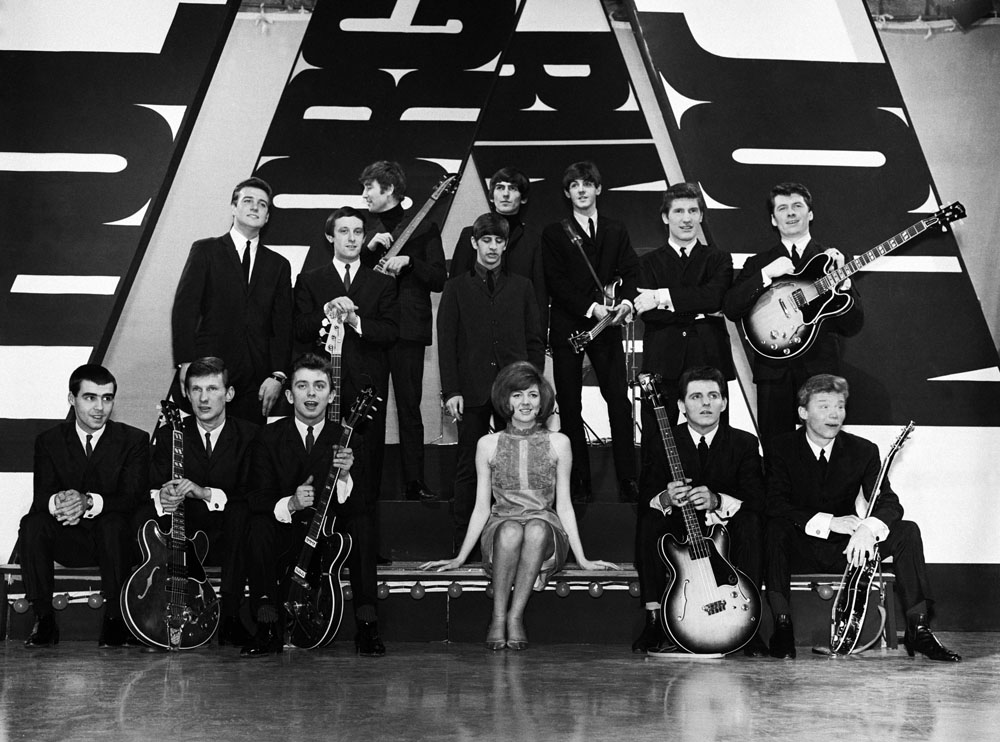 All-Merseyside edition of the TV show Thank Your Lucky Stars with the Beatles, Cilla Black, Billy J. Kramer and the Dakotas and the Searchers, December 1963