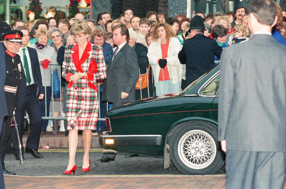 Francis House Children's Hospice welcomes Princess Diana, November 1991