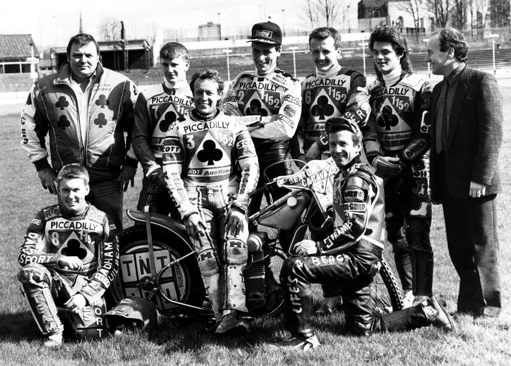 The Belle Vue Aces team of 1989