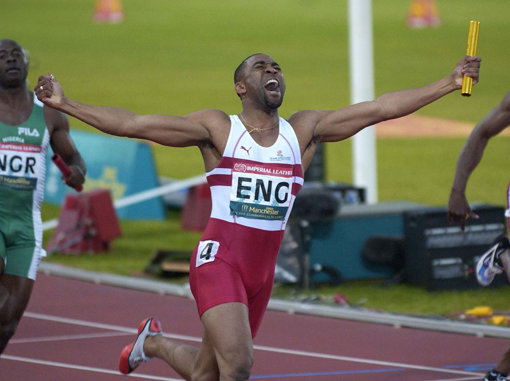 This Week – Darren Campbell brings the baton home for England…