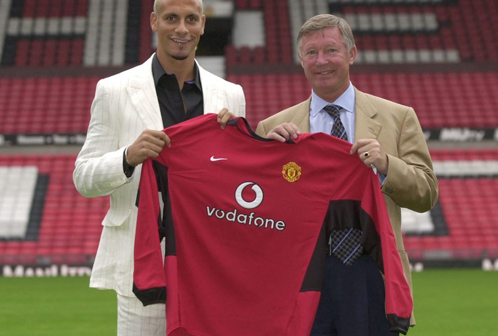 This Week – Rio Ferdinand arrives in Manchester…