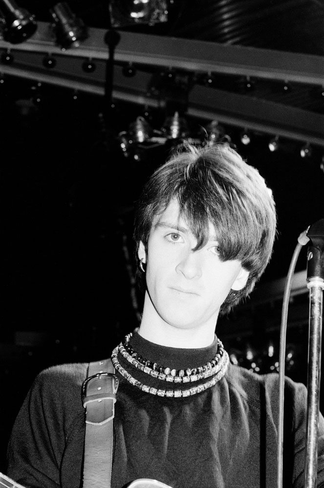 Johnny Marr, song-writer and guitarist with The Smiths, March 1984