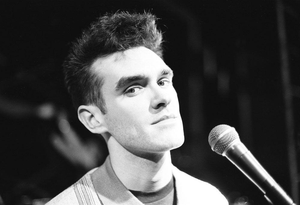 Morrissey, song-writer and lead singer with The Smiths, March 1984