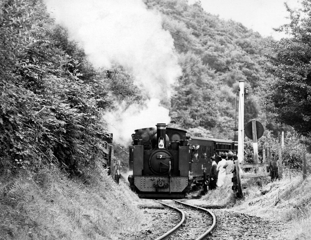 BR's first week without steam locos – apart from three on the narrow-gauge Vale of Rheidol Railway.