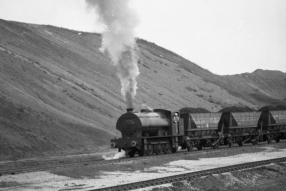 Steam was still in use in industry as at Bickershaw Colliery at Westleigh near Leigh.