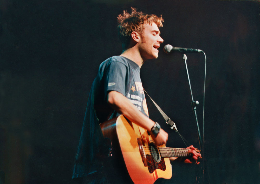 Damon Albarn of Blur, who came together as a band after seeing The Smiths