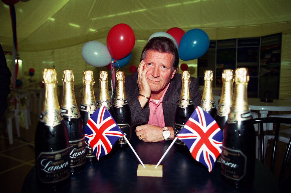 Johnny Briggs is downcast as the Olympic games go to Sydney