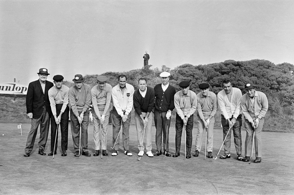 America's powerful Ryder Cup team at Royal Birkdale in October 1965