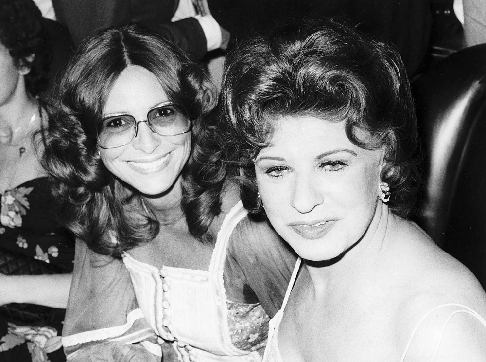 Cuckoo Waltz star Diane Keen with Coronation Street legend Pat Phoenix, August 1980