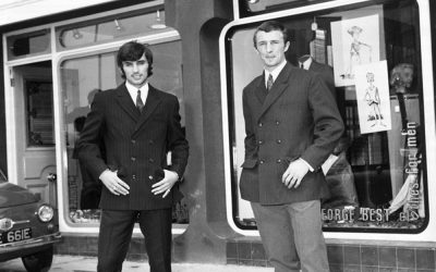 Bits & Pieces – George Best opens Best's 'Edwardian' fashion boutique…
