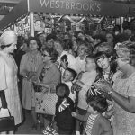 A warm welcome for the Queen at St John's Market, June 1971