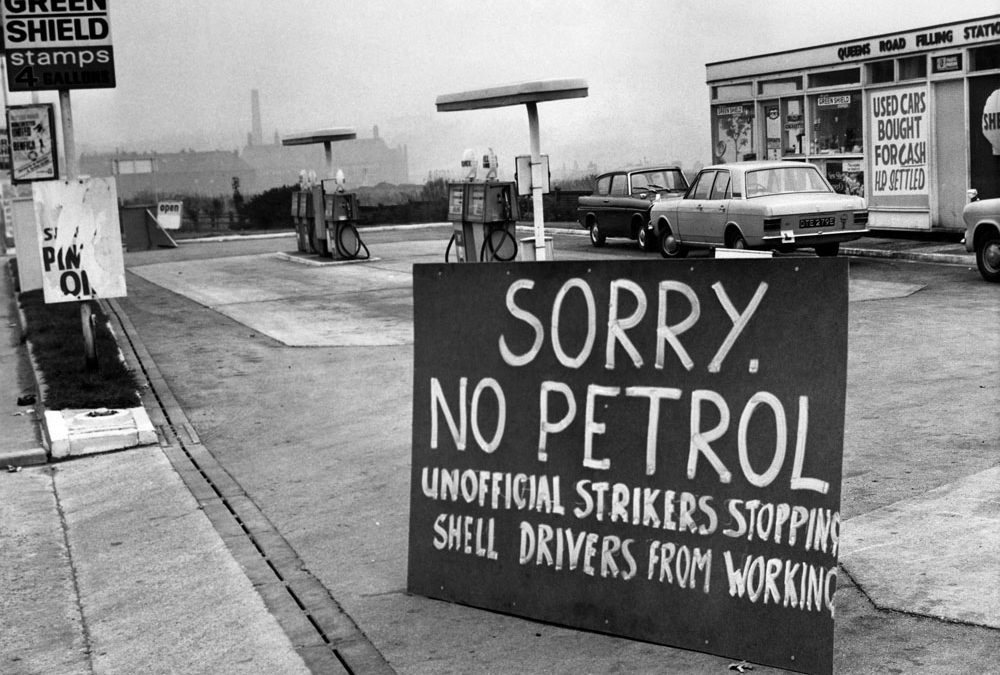 Bits & Pieces – No Petrol Due to Industrial Dispute…
