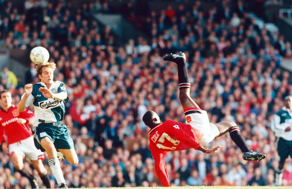 This Week – Andy Cole's Stunning Overhead Kick at Old Trafford…