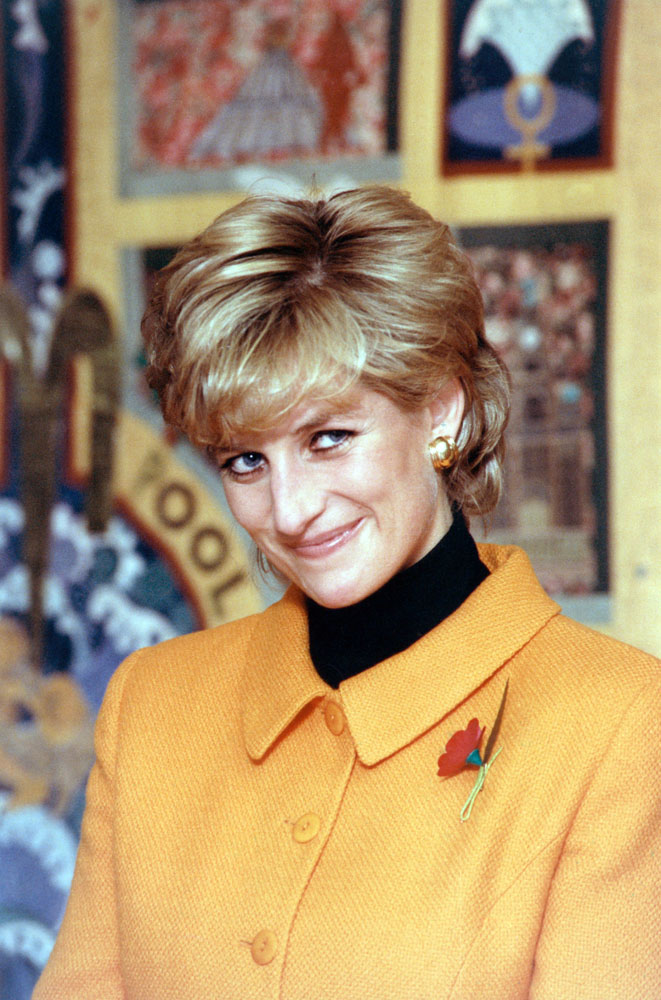 A smile from Princess Diana at the Project Rosemary housing scheme in Toxteth, November 1995