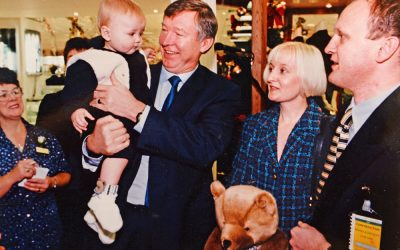 Sir Alex opens M&S after bomb…