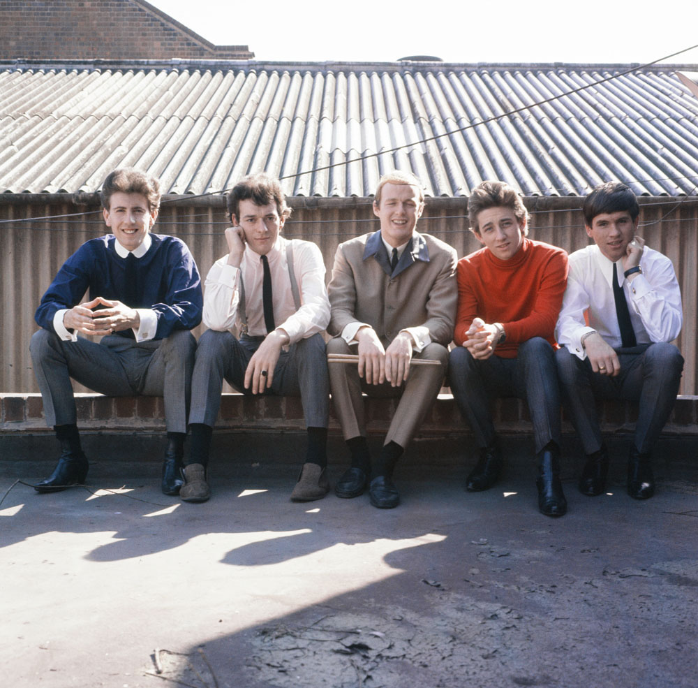 The Hollies, from left, Graham Nash, Allan Clarke, Bobby Elliott, Tony Hicks and Eric Haydock, May 1964