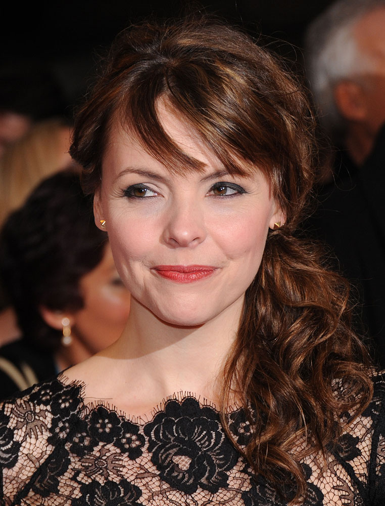 Salford actress Kate Ford who plays Tracey Barlow, January 2012
