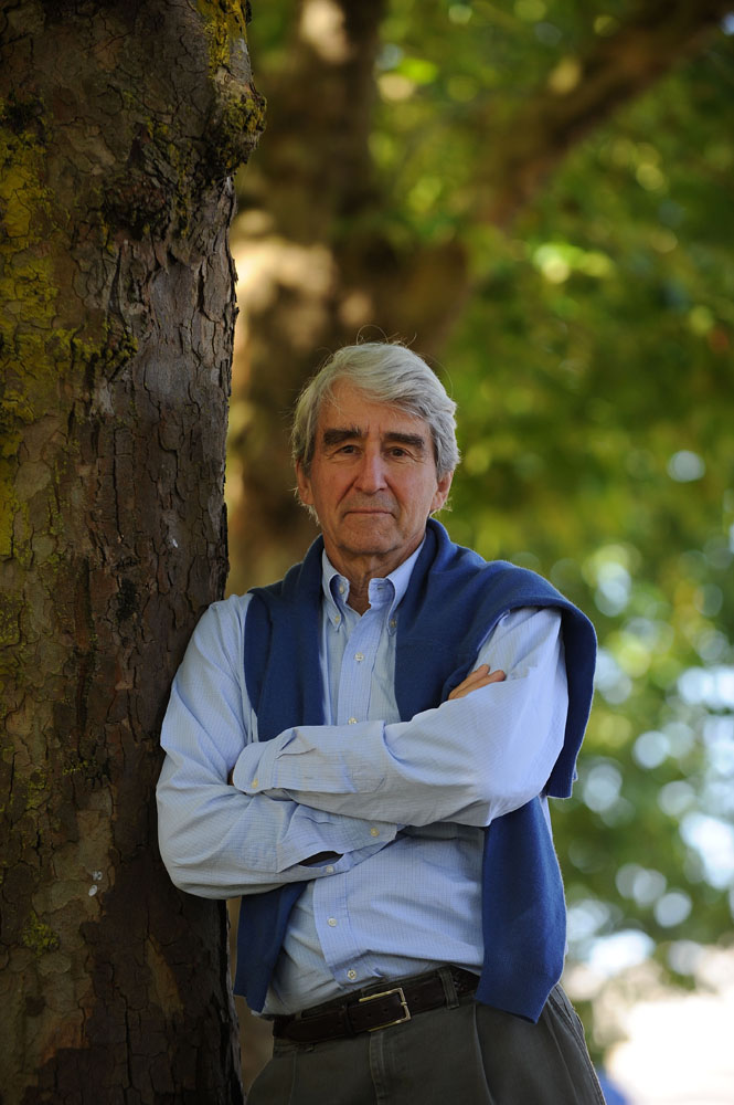 Sam Waterston starred in the film of Beryl Bainbridge's book Sweet William, September 2012