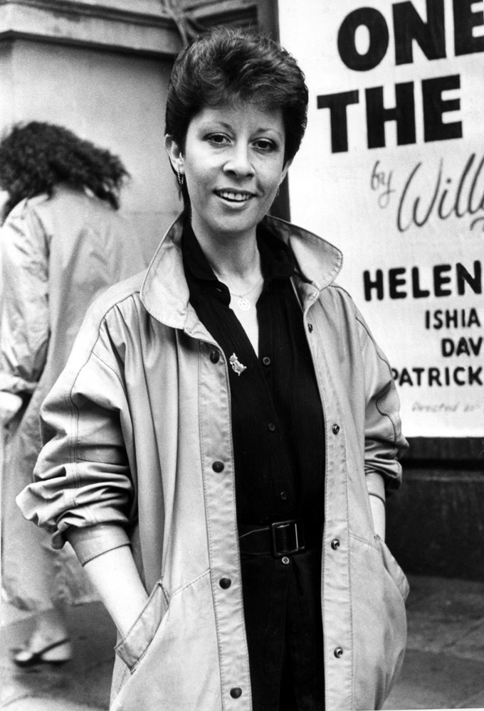 Singer Helen Shapiro was brought in to boost ratings on Albion Market, May 1985